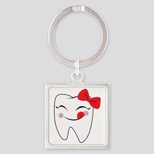 Girly Tooth Keychains